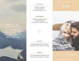 Customize 86 Wedding Brochure Templates Online Canva
