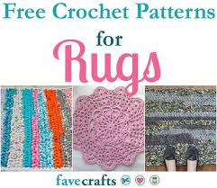 Free Crochet Rug Patterns Amazing 48 Free Crochet Patterns For Rugs FaveCrafts