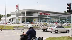 Showroom (Dealer) Toyota Auto2000 Cikarang Bekasi