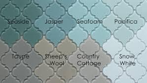 Kitchen And Bath Tile Stores Pacifica Arabesque Glass Mosaic Tiles Arabesque Tile Glass