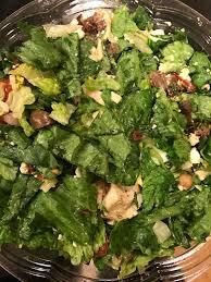 1 chop t salad with grilled en