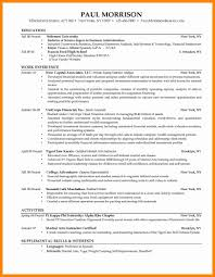 Recruiter Resume Sample College Resumes Samples Fungramco 98