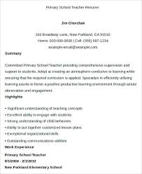 School Teacher Resume Sample Sample Teacher Resume Teacher Resume Examples Teacher Resume 50