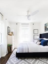 modern guest bedroom ideas. Bedroom:Sparkling Modern Guest Bedroom With Glossy Black Bed Also Ceiling Fan Light Simple, Ideas N