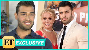 Britney spears and sam asghari attend a basketball game between the los angeles lakers and the golden state warriors at staples. Sam Asghari Absolutely Sees Marriage With Britney Spears Exclusive Youtube
