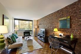 narrow living room rustic style long narrow living room exposed brick ideas