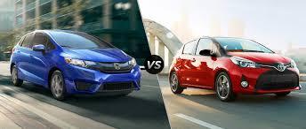 2016 Honda Fit LX vs 2016 Toyota Yaris L 5-door