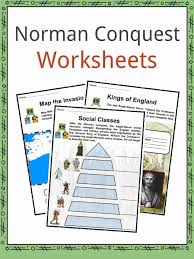 Norman Conquest Facts, Worksheets & Battle Information For Kids