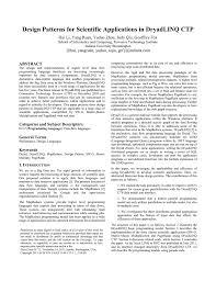 Mapreduce Design Patterns Source Code Design Patterns For Scientific Applications In Dryadlinq Ctp