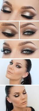 Makeup Inspiration Golden Pearl Brown Sultry