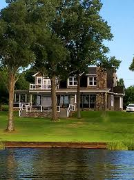 Rustic Cottage Home Plan View From The Lake