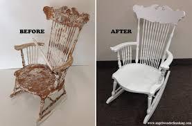 refinish rocking chair.  Rocking Refinishing Wooden Rocking Chairs Designs And Refinish Chair A