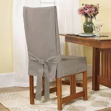 sure fit short dining chair slipcover white