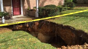 help a sinkhole is swallowing our home realtor com