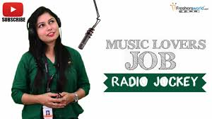 Job Roles For Radio Jockey Radio Rj Dj All India Radio Youtube