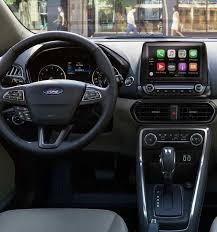 2018 ford ecosport. contemporary ford 2018 ford ecosport instrument panel featuring available 8inch touchscreen inside ford ecosport