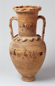 geometric art in ancient essay heilbrunn timeline of terracotta neck amphora