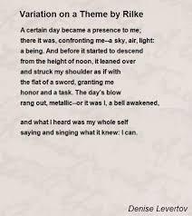 robert frost poem themes co robert frost essay variation on a theme by rilke poem denise levertov hunter