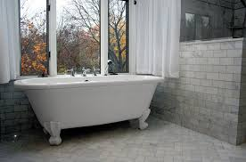 extra large clawfoot tub. a\u0026e construction tile bathroom renovatoin clawfoot tub.jpg extra large tub