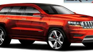 New Jeep Grand Cherokee SRT8 to receive over 500hp