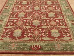 pottery barn persian 9x12 franklin woolen area rugs carpet