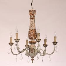rustic style chandeliers antique rustic 6 light candle style resin chandelier with