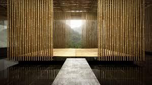 bamboo wall panels room