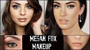 megan fox full face makeup tutorial