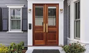 fiberglass vs wood door which is