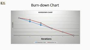 Burn Down Chart And Burn Up Chart Burn Down And Burn Up Charts Agile Project Management