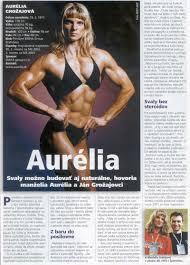 Aurelia Grozajova IFBB professional bodybuilder