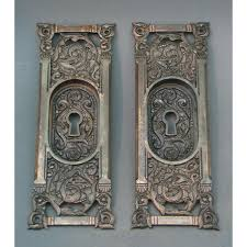 vintage pocket door hardware. Sold Antique Pocket Door Hardware Vintage T