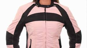 xs21860 xelement women s armored tri tex pink fabric jacket at leatherup com