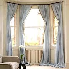 unique bay window treatments. Contemporary Window Bay Window Treatment Curtain Is Cool Ideas For Bow  Windows   To Unique Bay Window Treatments D