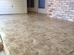 stamped concrete overlay. Ashlar Slate Stamped Concrete Overlay N
