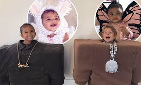 Saint West and Reign Disick dress up as Kanye and Lil Pump for ...