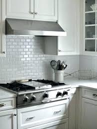 subway white contemporary tile kitchen backsplash photos