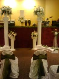 Columns For Decorations Church Decorations With Columns And Flowersjpg