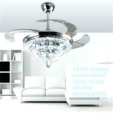 white ceiling fan with crystal chandelier picture inspirations