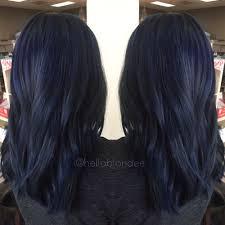 Dark Blue Hair Colour Ideas Popsugar