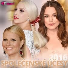 Společenské účesy 2016 Učešte Se Jako Celebrity Vlasy A účesy