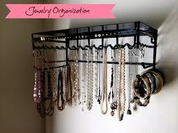stunning 25 wall hanging jewelry organizer decorating inspiration new necklace