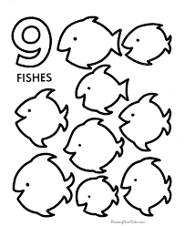 Small Picture Pre K Number Coloring Pages Coloring Pages