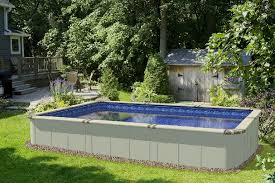 in ground pools rectangle. How Can You Tell If A Pool Was Designed For Semi-inground Or Inground Use? In Ground Pools Rectangle