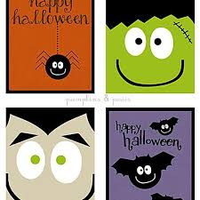 These halloween coloring cards can be made quickly and easily in cricut design space and you can use any image from cricut access to use as the coloring picture. Free Printable Halloween Greeting Cards