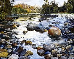 Image result for rocks in river
