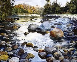 Image result for rocks in river
