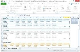 Lunch Schedule Template Excel Employee Training Ar Template Excel