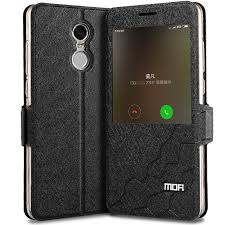 xiaomi redmi note 4x cover case leather flip window luxury snapdragon 3gb 32gb fundas silicone smart xiaomi redmi note 4x cover in flip cases from