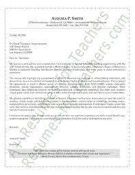 Teacher Resume Cover Letter Beautiful Teaching Resume Cover Letter